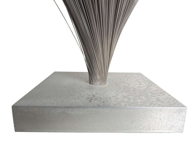 Mid-Century Modern Large Harry Bertoia Spray Sculpture For Sale