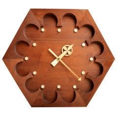 Rare Arthur Umanoff for Howard Miller Wall Clock