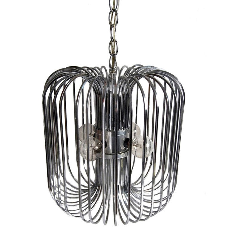 The Squirrel Cage Chandelier For Sale
