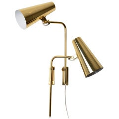 Elegant Paavo Tynell Adjustable Wall Lamps
