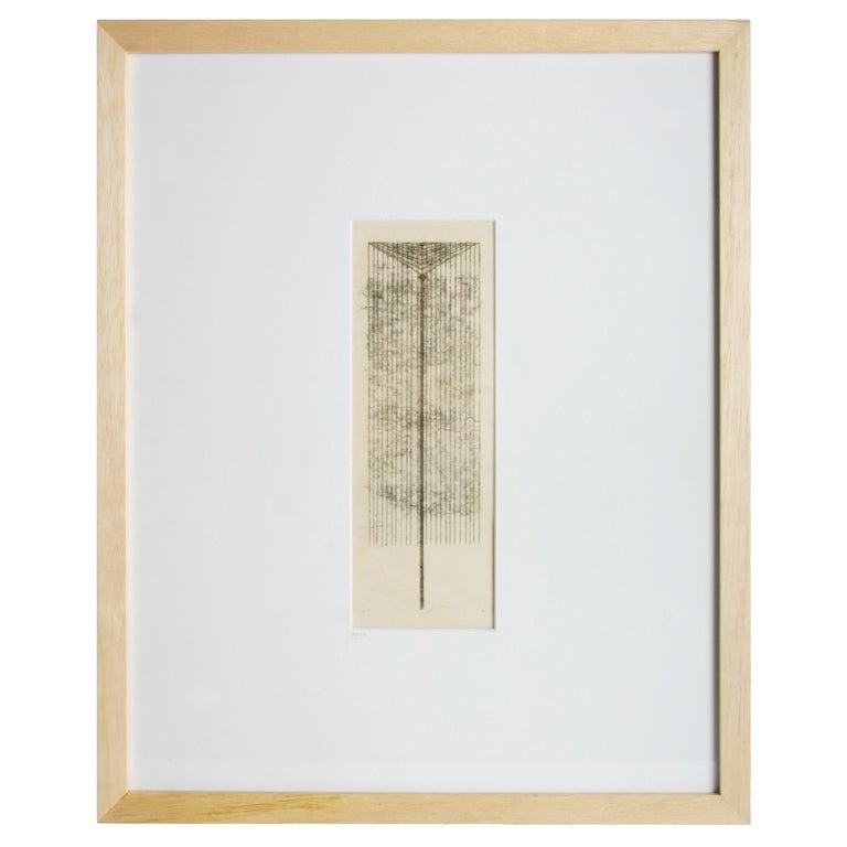 a Harry Bertoia Monotype For Sale