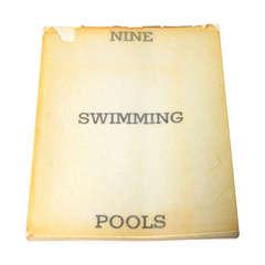 Ed Ruscha, Nine Swimming Pools (And A Broken Glass), 1968