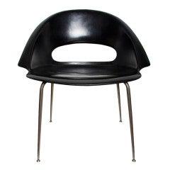 Rare Bovirke armchair in fibreglass