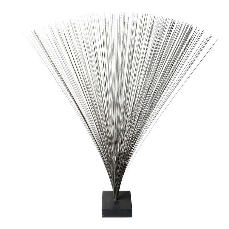 Early Harry Bertoia Spray Sculpture For Sale