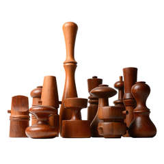 Collection of Jens Quistgaard Pepper Mills
