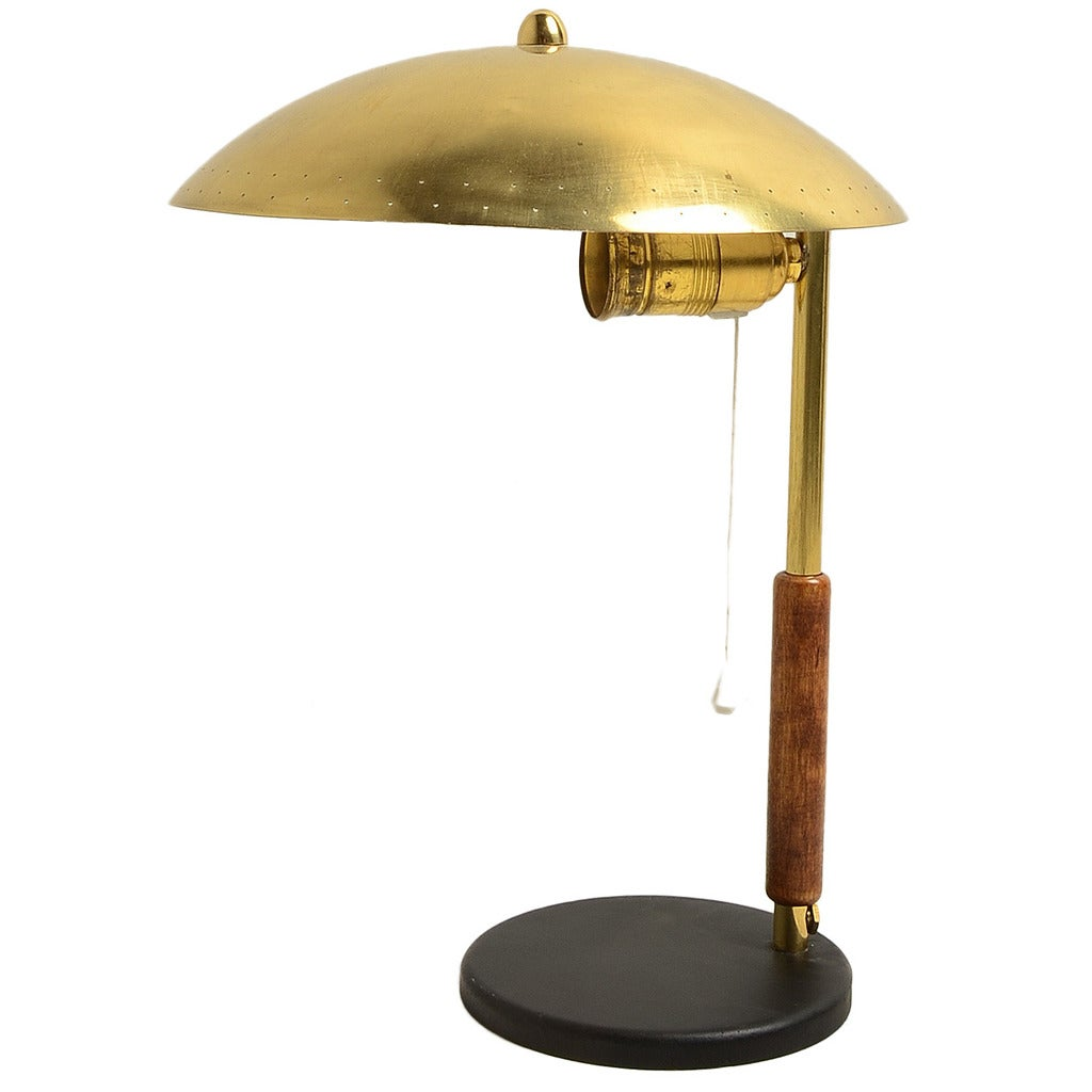 Paavo Tynell Table Lamp in Brass