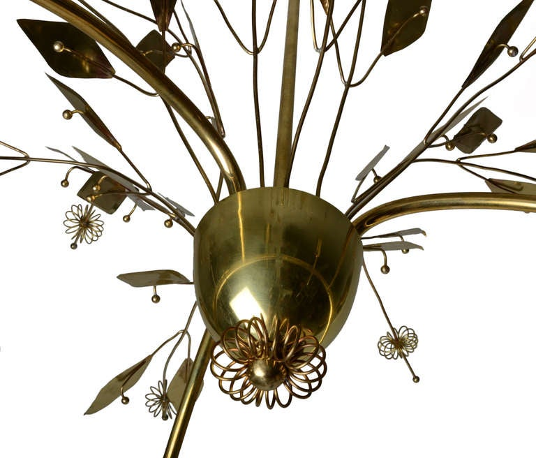 Important Large Paavo Tynell Custom Chandelier At 1stdibs