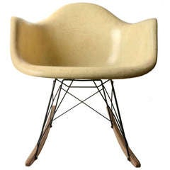 Early Eames Rocking Chair for Herman Miller
