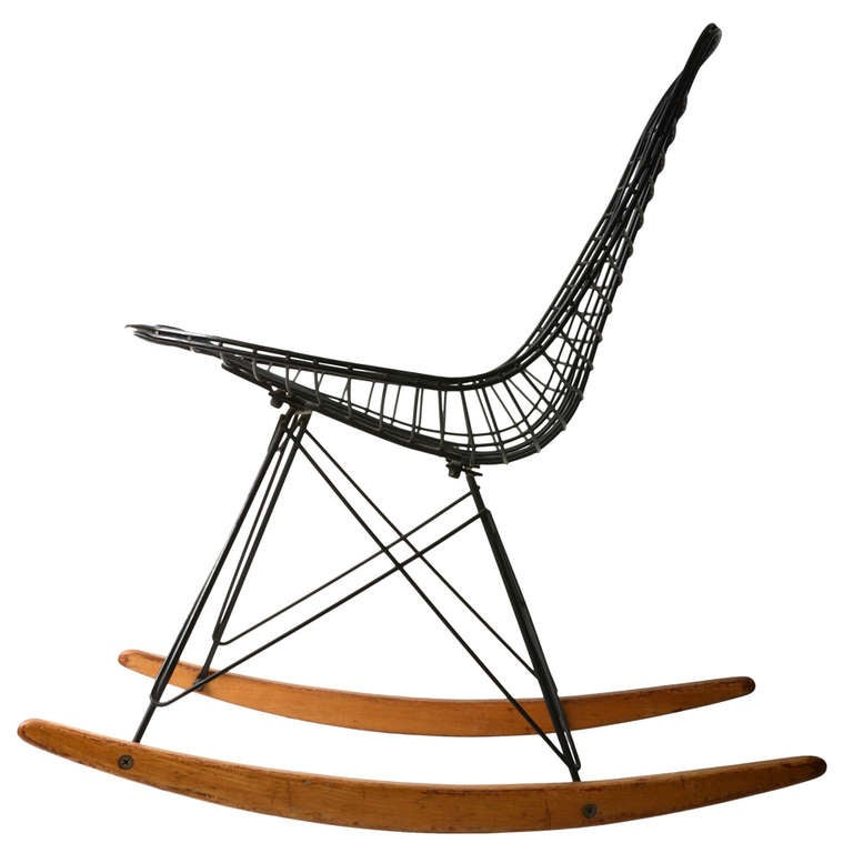 eames wire rocker at 1stdibs. Black Bedroom Furniture Sets. Home Design Ideas