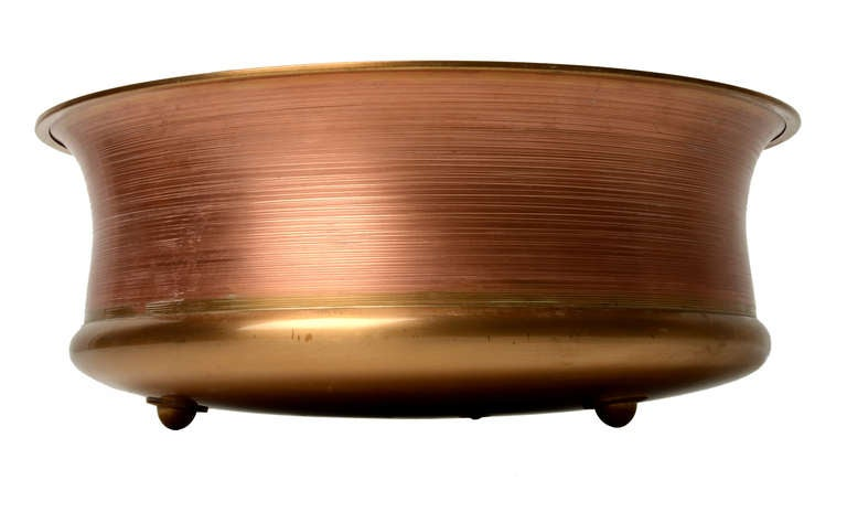 Scandinavian Modern Tapio Wirkkala Bronze Bowl TW491 For Sale
