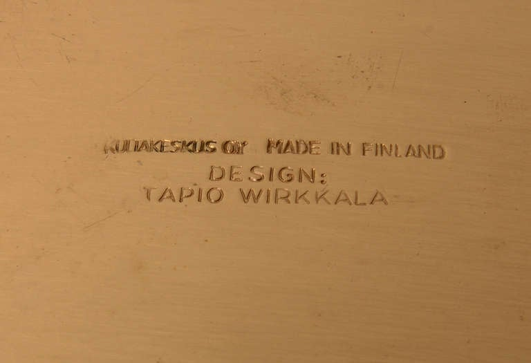Tapio Wirkkala Bronze Bowl TW491 4