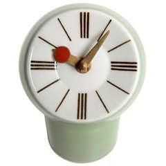 Royal Copenhagen Porcelain Clock by Snorre Læssøe Stephensen