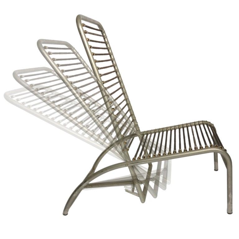 Rene herbst fauteuil de repos at 1stdibs - Fauteuil de repos inclinable ...