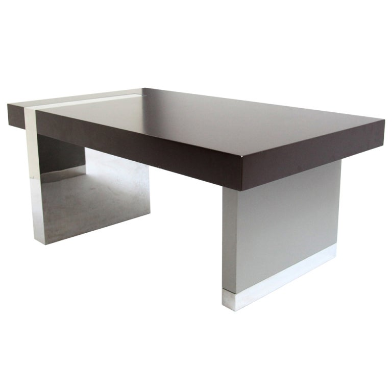 Vladimir Kagan Coffee Table For Gucci At 1stdibs
