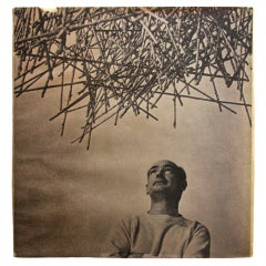 "An inscribed copy of Harry Bertoia's ""Sculptor"""