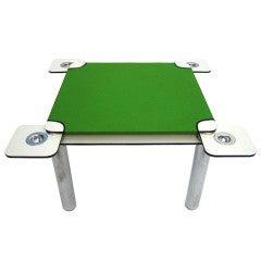 "Joe Colombo ""poker"" table for Zanotta"
