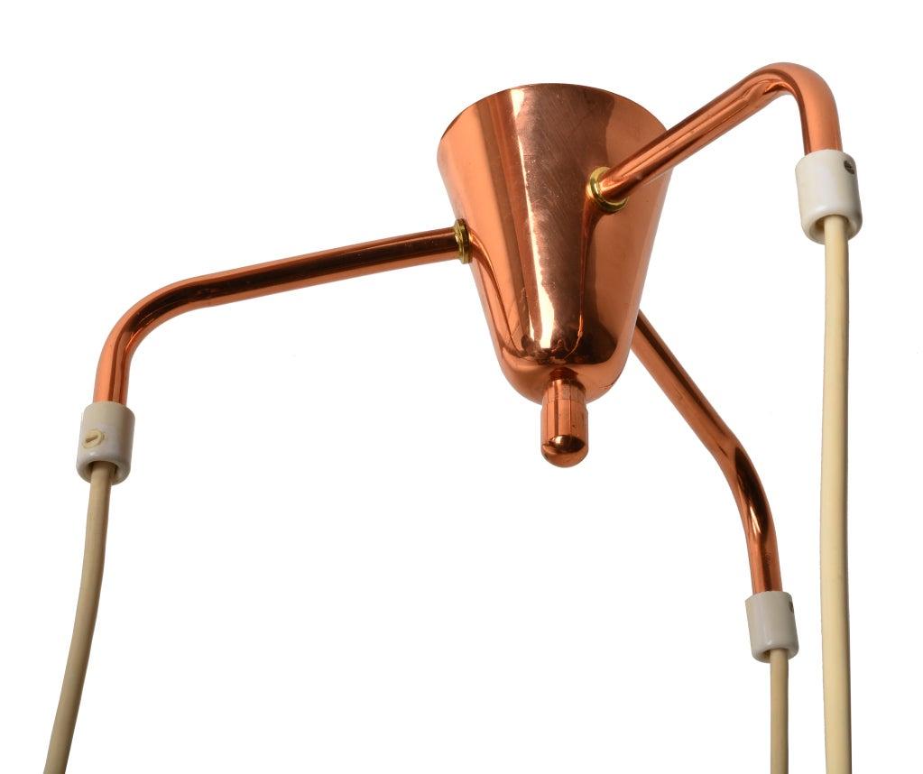 Finnish Tapio Wirkkala hanging lamps for IDMAN For Sale