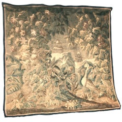 18th C. Flemish Verdure Tapestry