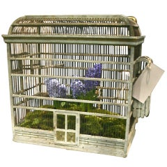 19th C. French Sparrow Cage