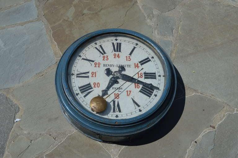 Rare Henry Lepaute of Paris France Antique Clock early 1900's 2