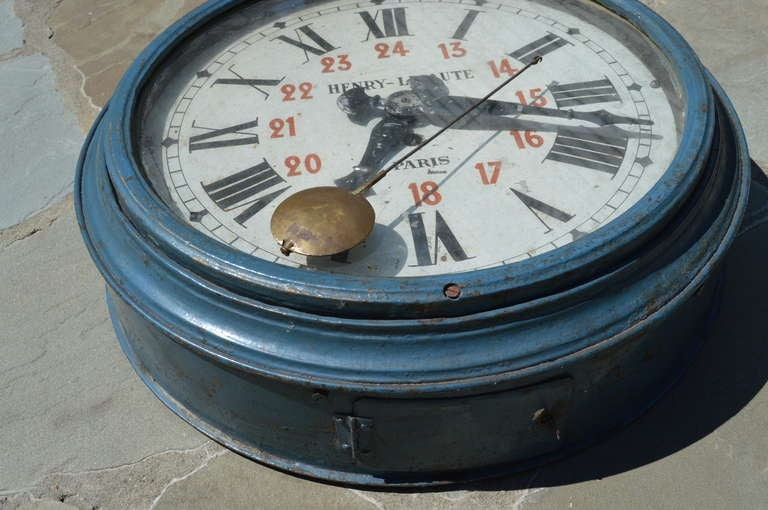 Rare Henry Lepaute of Paris France Antique Clock early 1900's 5