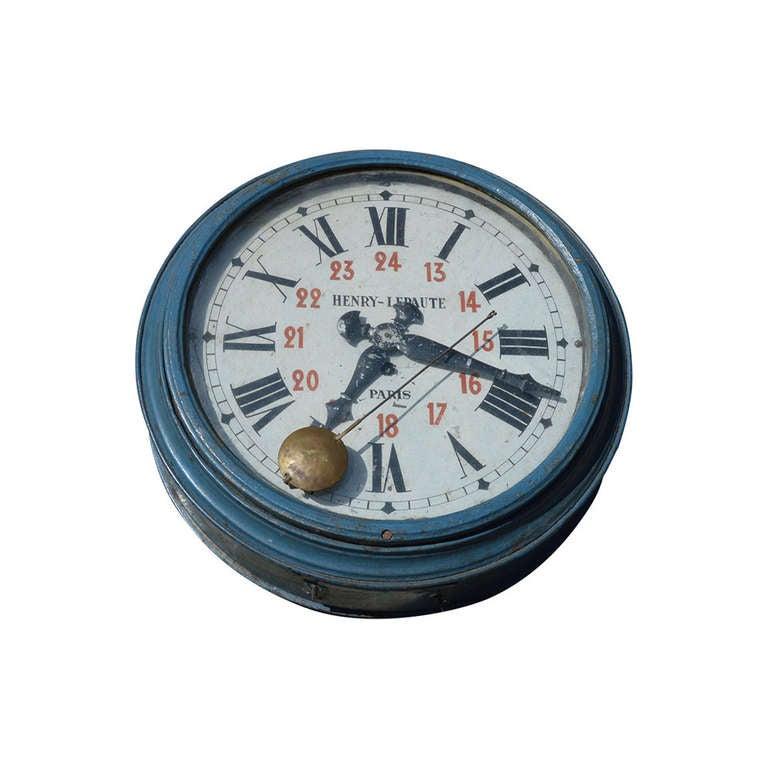Rare Henry Lepaute of Paris France Antique Clock early 1900's 1