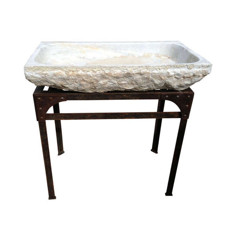 How To Carve A Stone Sink : Sorry, this item from Garden Variety Design is not available.