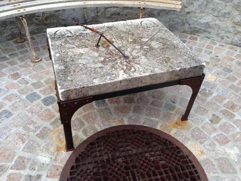 19th C. French Stone Sundial 2