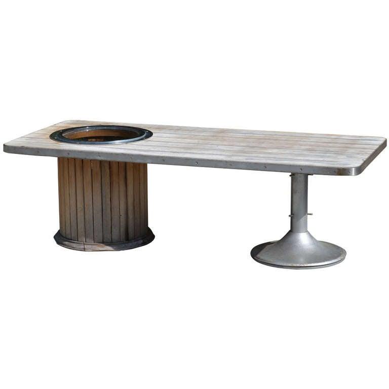 Mid Century Yacht Club Coffee Table 1