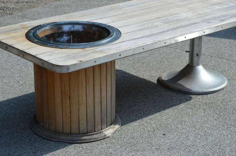 Mid Century Yacht Club Coffee Table For Sale 2