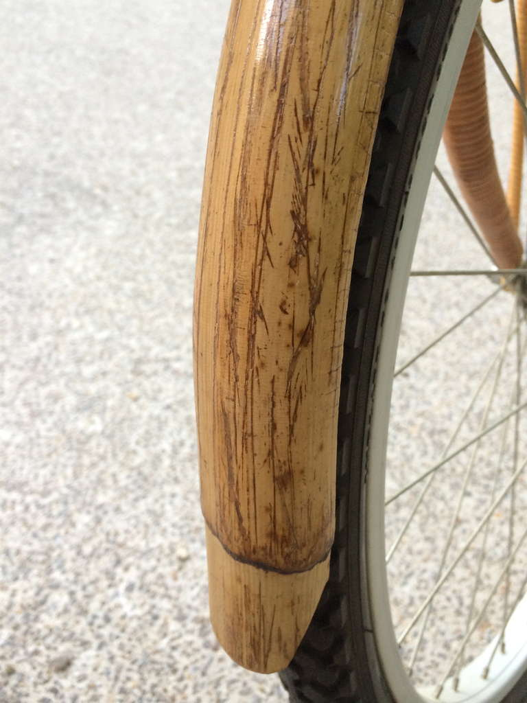 Vintage Rattan Bicycle For Sale 1