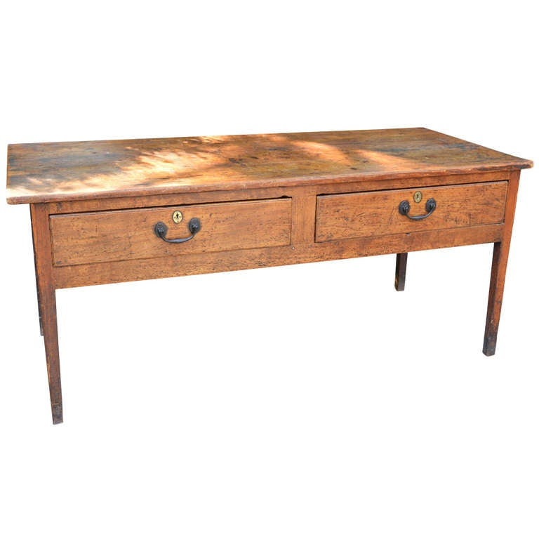 Sycamore and Pine English Regency Server, c. 1830 For Sale