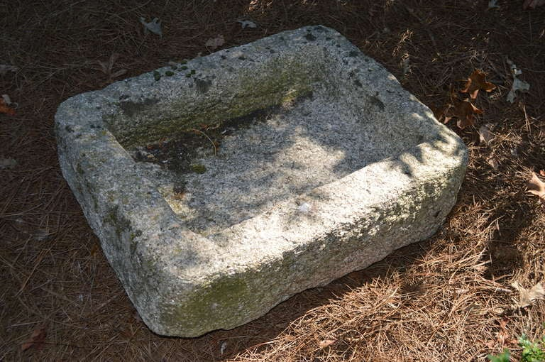 British 19th C English Granite Troughs For Sale