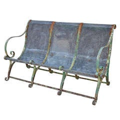 19th C French Jardin Bench