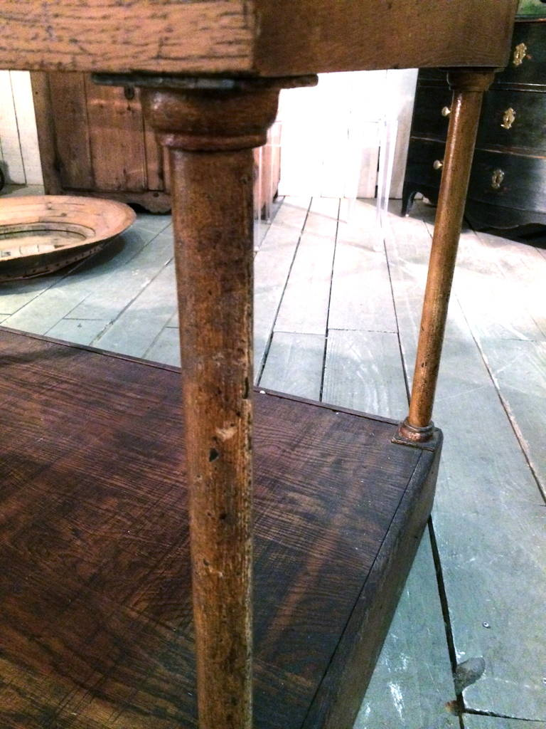19th C FrenchWalnut Shop Counter 4