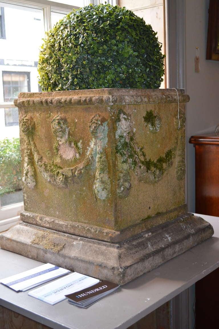 British 19th c. English Compton Stone Planters For Sale