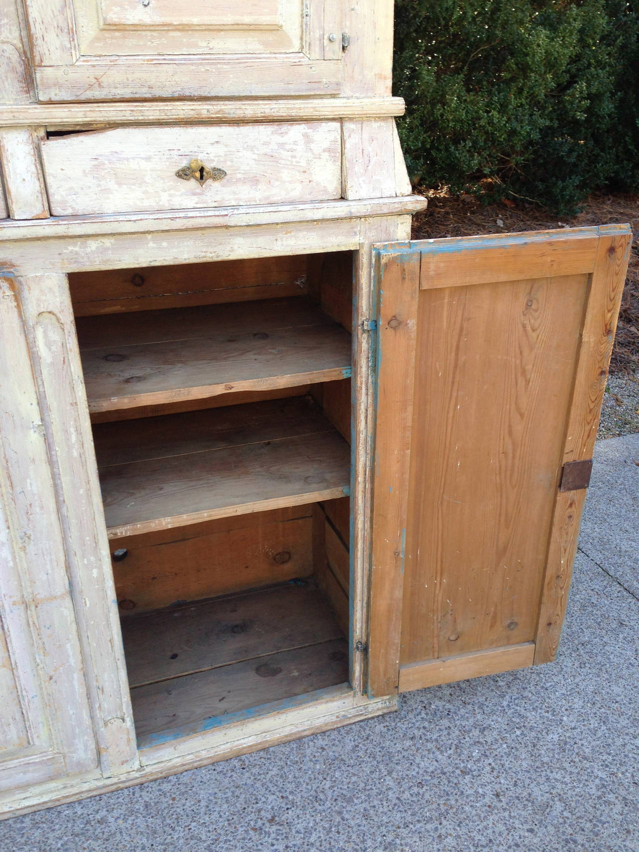 19th Century 19th C Swedish Cabinet For Sale