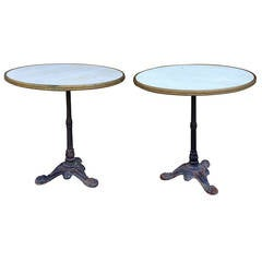Pair of French Bistro Tables