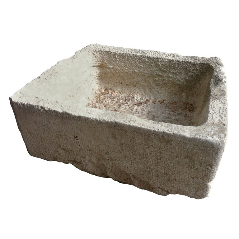 19thC French  Stone Trough For Sale