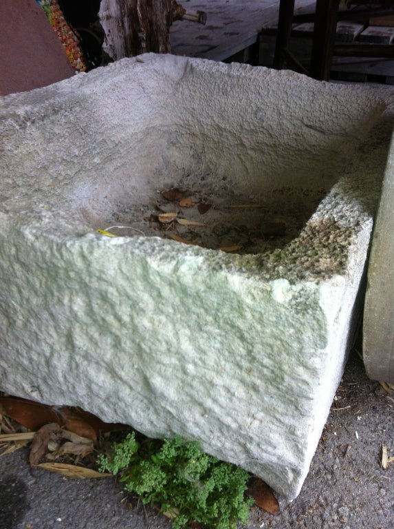 19thC French  Stone Trough For Sale 1