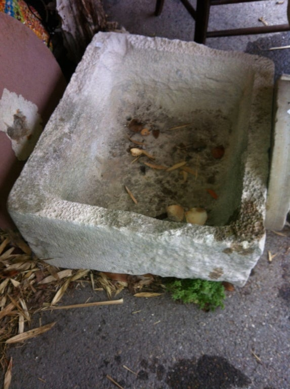 19thC French  Stone Trough For Sale 2