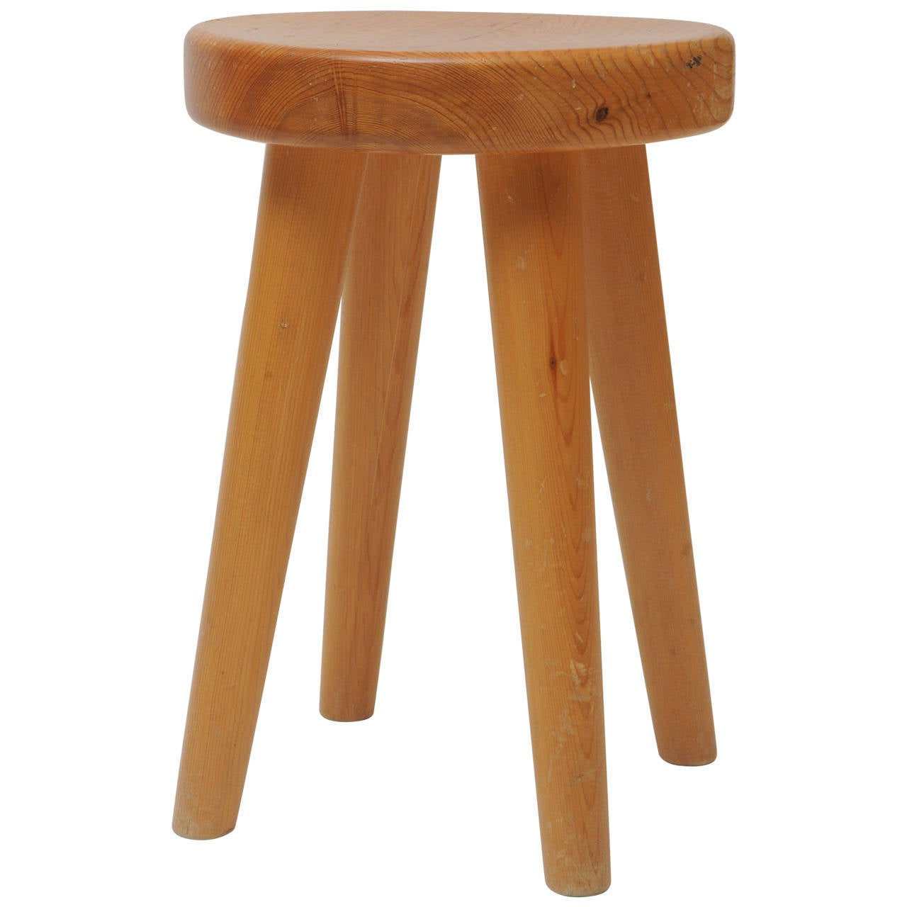 Four Legs Stool In The Manner Of Charlotte Perriand At 1stdibs
