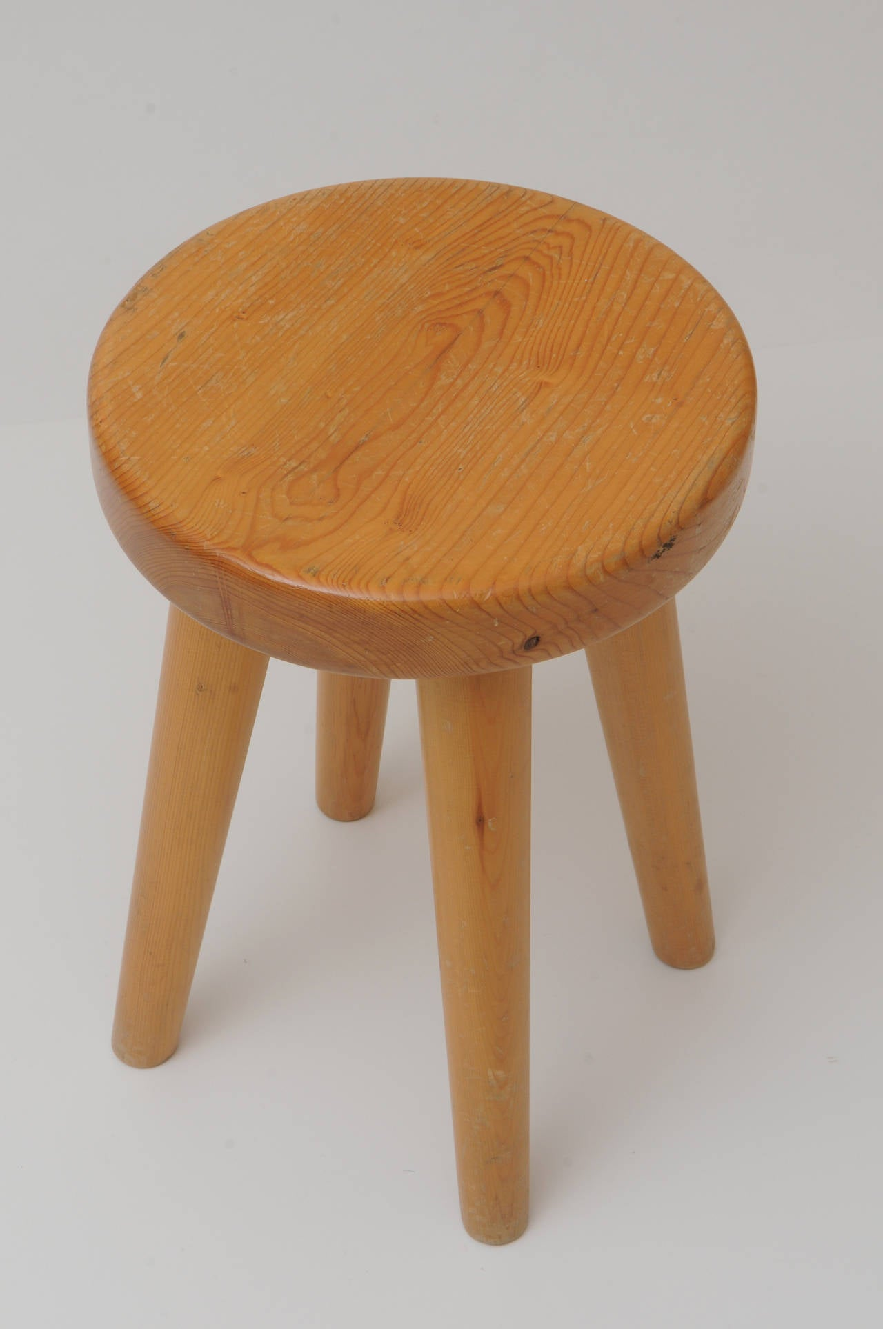 4 Legged Stool ~ Four legs stool in the manner of charlotte perriand at stdibs