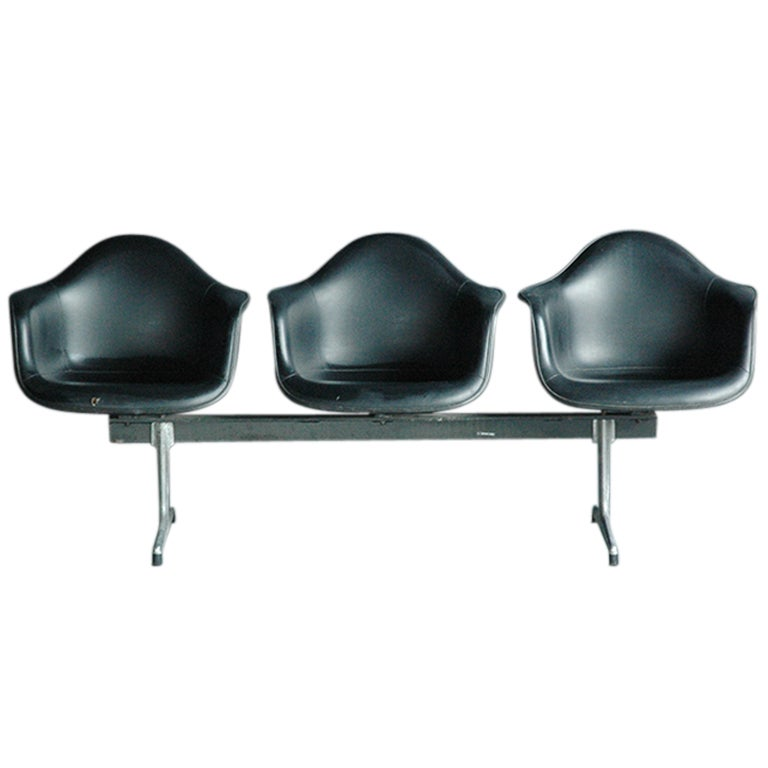 Charles And Ray Eames For Herman Miller Fiberglass Tandem