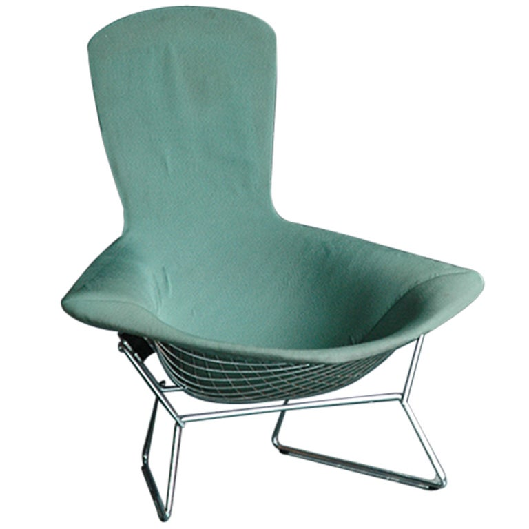 Harry Bertoia for Knoll Steel Bird Lounge Chair at 1stdibs