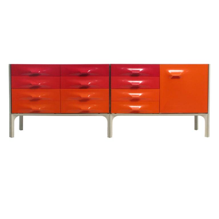 Raymond Loewy DF2000 Dresser Credenza at 1stdibs