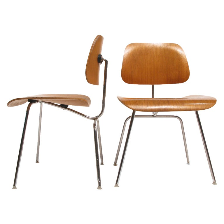 Charles And Ray Eames Herman Miller Plywood Chair SET OF FOUR At 1stdibs