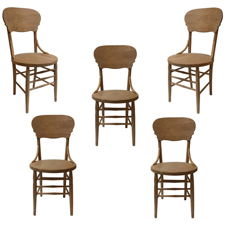 Antique Oak Dining Chairs At 1stdibs