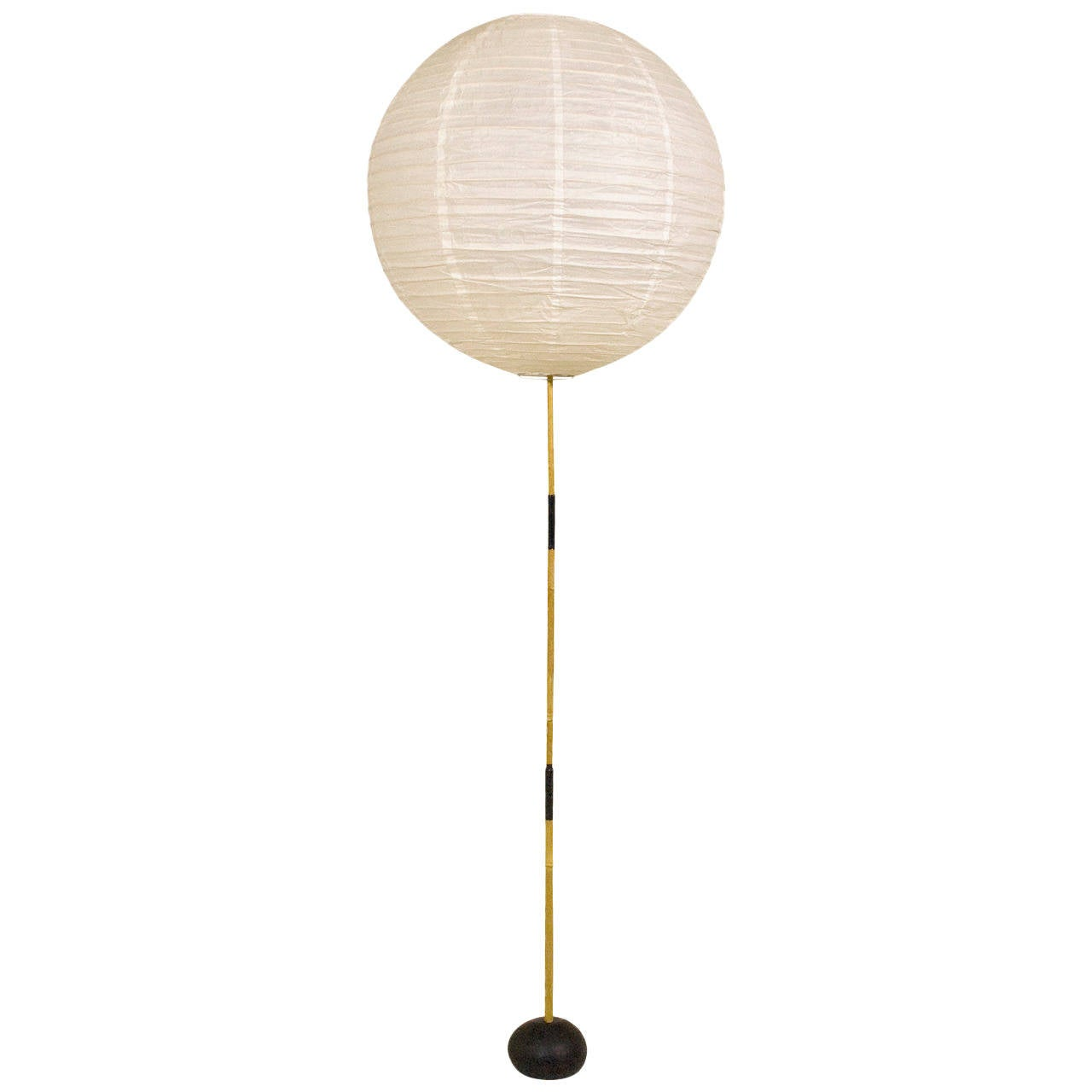 Isamu Noguchi Bamboo Floor Lamp, circa 1950 Japan at 1stdibs