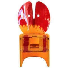 "Gaetano Pesce Chair of the Series ""Nobody's Perfect,"" Zerodesigno Edition"